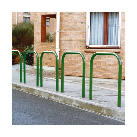 Arceau simple peint coloris vert RAL 6005