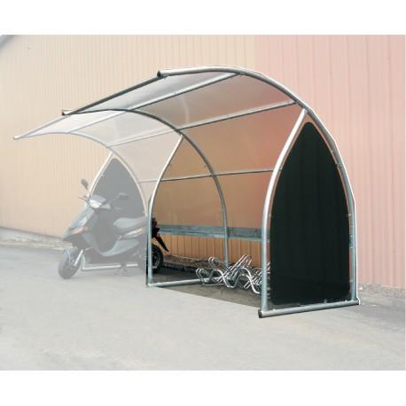 abri moto trendy abri moto motobox tunnel with abri moto. Black Bedroom Furniture Sets. Home Design Ideas