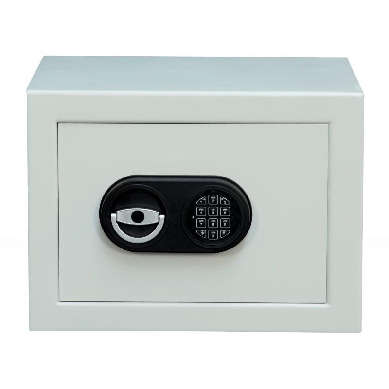 coffre fort anti feu 27 l une tablette serrure cl ou lectronique. Black Bedroom Furniture Sets. Home Design Ideas
