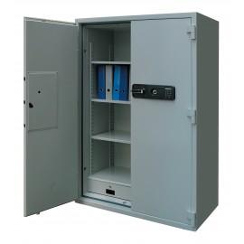 Armoire forte ignifuge papier 762 litres 2 portes ouverte