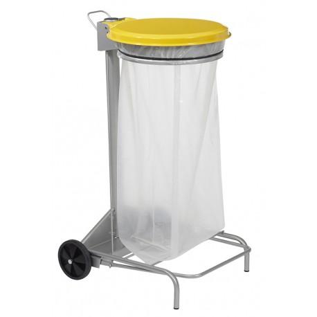 COLLECROULE 110 litres tri sélectif jaune colza