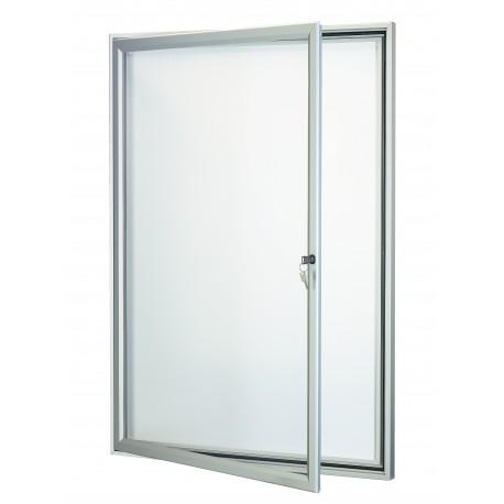 Vitrine TRADITION cadre aluminium sans affiche