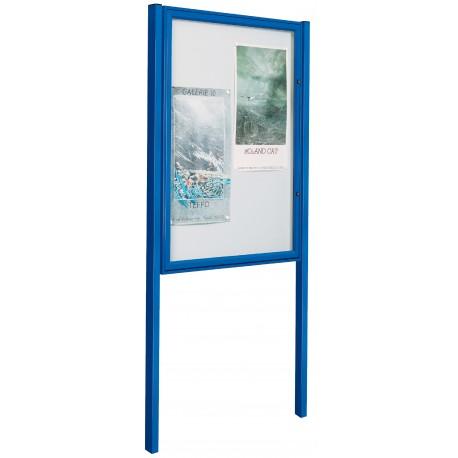 Kit pied pour vitrine CLASSIQUE et TRADITION fixation par scellement