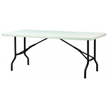 Table POLYPRO rectangulaire plateau 183cm x 76cm