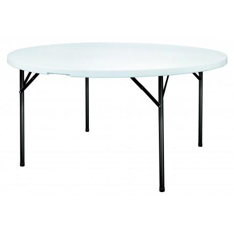 Table POLYPRO ronde diamètre 154cm