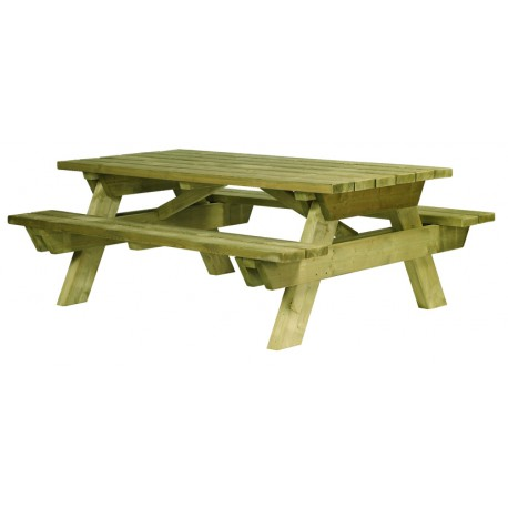 Table ZEPHIR + longueur 200 cm