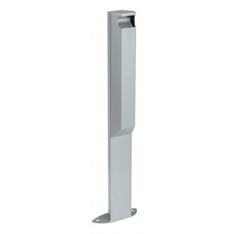 Cendrier ARKEA 3L sur pied coloris gris métal